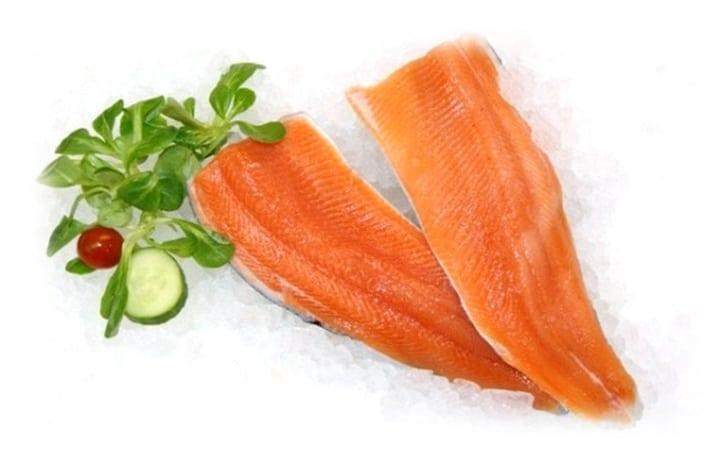 Filet de truite saumonée en promotion